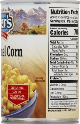 Kuner's Premium Golden Sweet Whole Kernel Corn Perspective: right