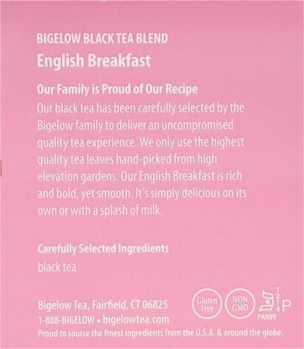 Bigelow English Breakfast Black Tea Perspective: right