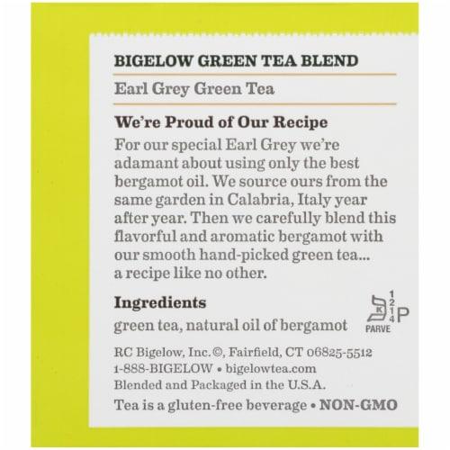 Bigelow Earl Grey Green Tea Perspective: right