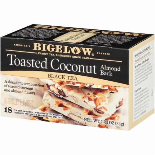 Bigelow Toasted Coconut Almond Bark Black Tea Perspective: right