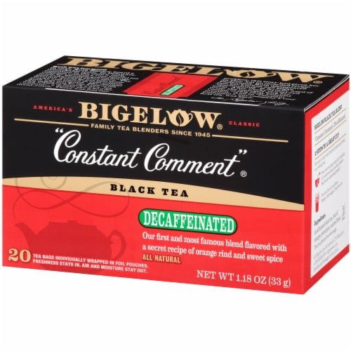Bigelow Constant Comment Decaffeinated Black Tea Perspective: right