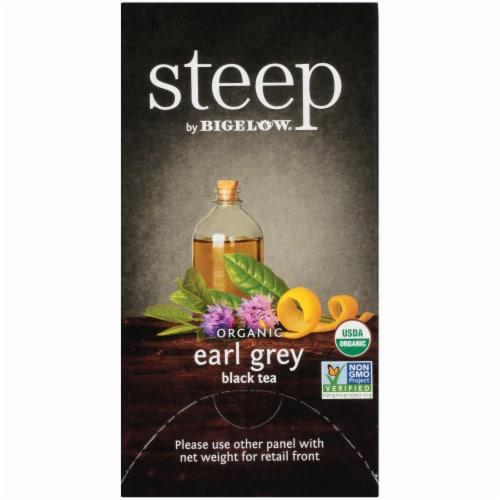 Bigelow Steep Organic Early Grey Black Tea Perspective: right