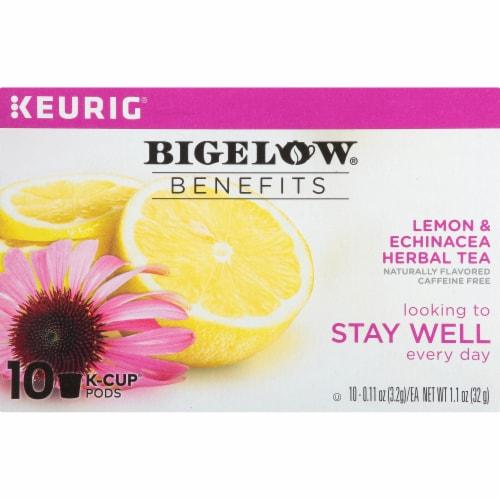 Bigelow Benefits Lemon & Echinacea Herbal Tea K-Cup® Pods Perspective: right