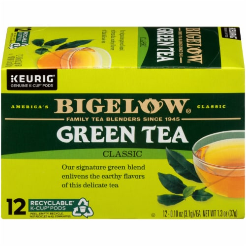 Bigelow Green Tea Classic K-Cup Pods Perspective: right