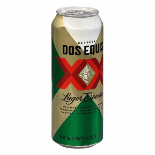 Dos Equis Lager Perspective: right