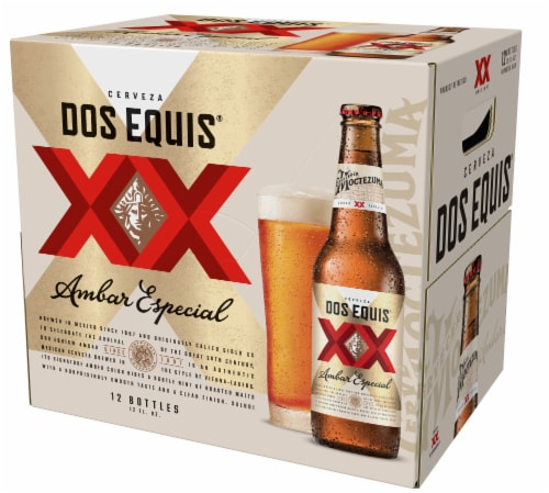 Dos Equis XX Amber Beer Perspective: right