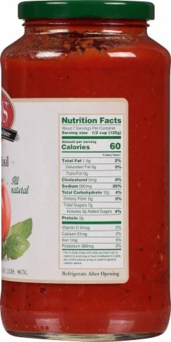 Mid's Tomato Basil Mushroom Sauce Perspective: right