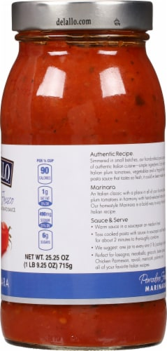 DeLallo Pomodora Fresco Marinara Sauce Perspective: right