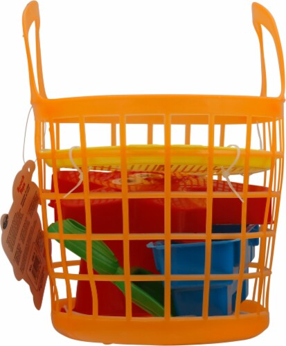 Amloid Beach Toys Basket Perspective: right