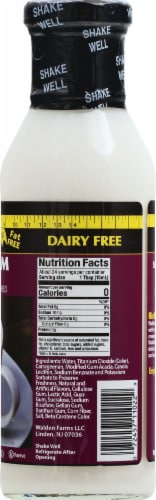 Walden Farms Sweet Cream Calorie Free Coffee Creamer Perspective: right