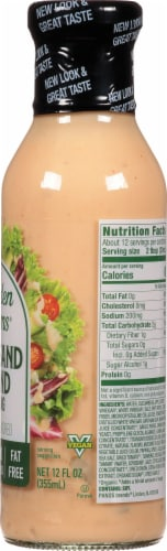 Walden Farms Calorie Free 1000 Island Dressing Perspective: right
