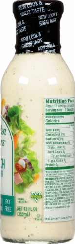 Walden Farms Ranch Dressing Perspective: right