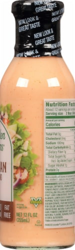 Walden Farms Claorie Free Russian Dressing Perspective: right