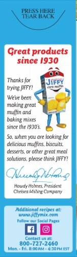 Jiffy Honey Corn Muffin Mix Perspective: right