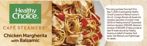 Healthy Choice Cafe Steamers Chicken Margherita with Balsamic Frozen Meal Perspective: right