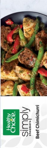 Healthy Choice Simply Steamers Beef Chimichurri Frozen Meal Perspective: right
