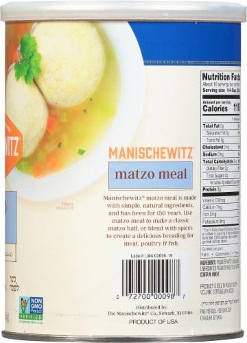 Manischewitz Unsalted Matzo Meal Perspective: right