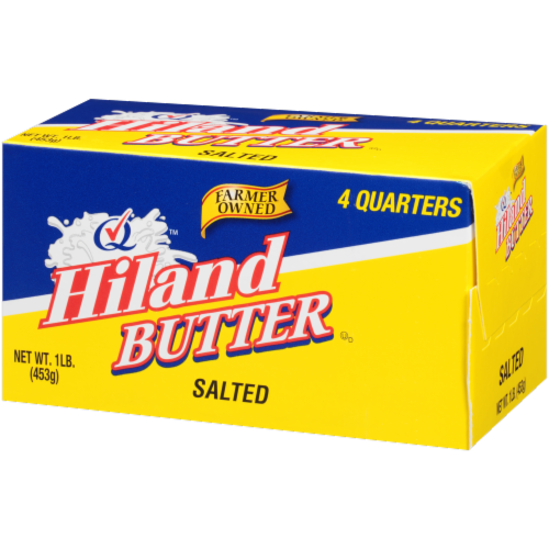 Hiland Salted Butter Perspective: right