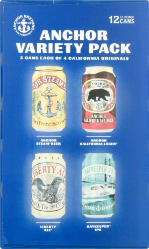Anchor Brewing Co. Beer Variety Pack Perspective: right