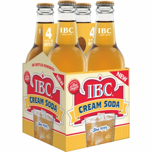 IBC Made with Sugar Cream Soda Perspective: right