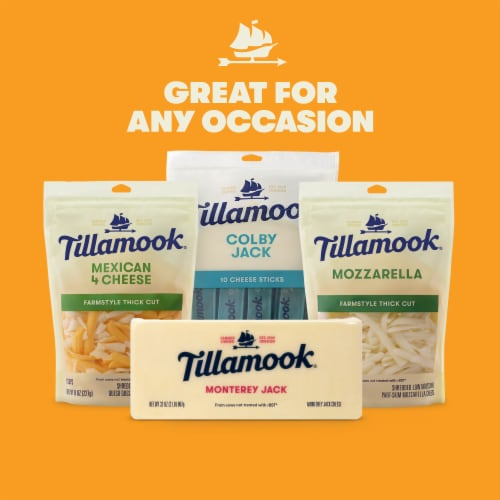 Tillamook Monterey Jack Cheese Baby Loaf Perspective: right