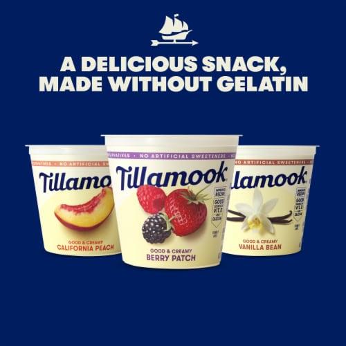 Tillamook Good & Creamy Vanilla Bean Lowfat Yogurt Perspective: right