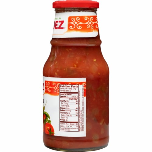 Herdez Hot Salsa Casera Perspective: right