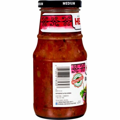 Herdez Medium Roasted Salsa Roja Perspective: right
