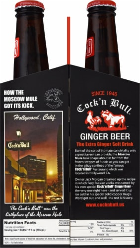 Cock 'n Bull Ginger Beer Perspective: right