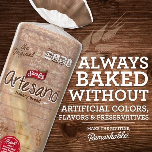 Sara Lee Artesano White Bakery Bread Perspective: right