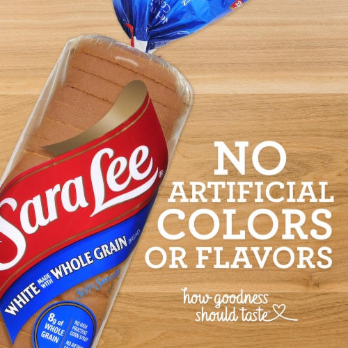 Sara Lee Soft & Smooth Whole Grain White Bread Perspective: right