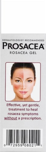 Prosacea Medicated Rosacea Homeopathic Topical Gel Perspective: right
