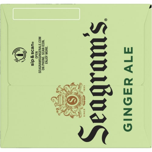 Seagram's Ginger Ale Perspective: right