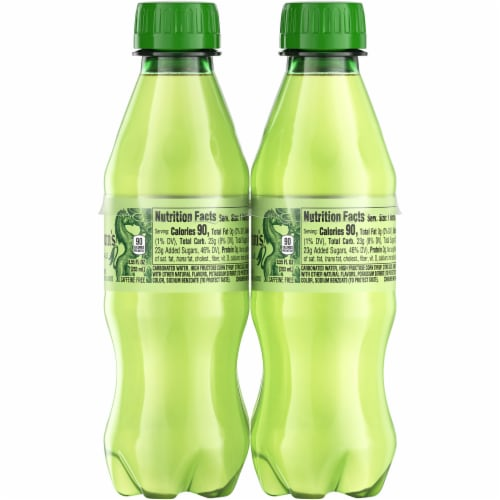 Seagram's Ginger Ale Soda Perspective: right