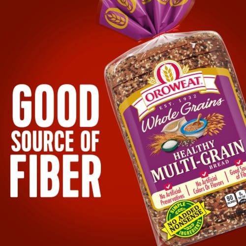 Oroweat® Whole Grains Healthy Multi-Grain Bread Perspective: right