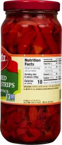 Mezzetta Deli-Sliced Roasted Bell Pepper Strips Perspective: right