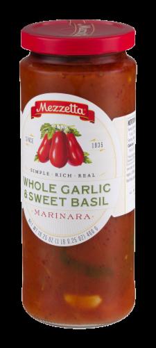 Mezzetta Whole Garlic & Sweet Basil Marinara Sauce Perspective: right