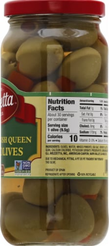 Mezzetta Imported Spanish Queen Martini Olives Perspective: right