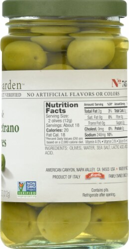 Jeff's Naturals Whole Castelvetrano Olives Perspective: right