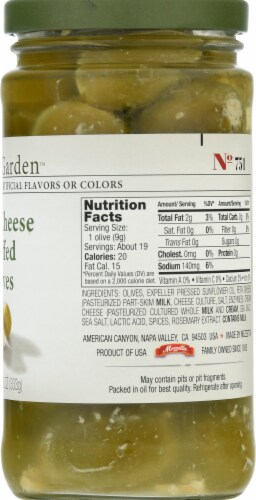 Jeff's Naturals Feta Cheese Stuffed Olives Perspective: right