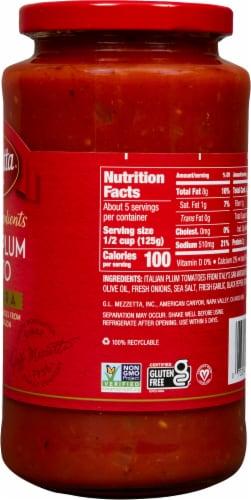 Mezzetta Italian Plum Tomato Marinara Sauce Perspective: right