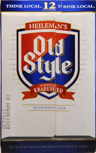 Old Style Traditional Lager Perspective: right