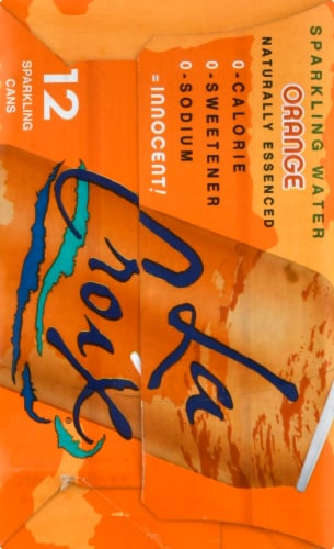 LaCroix Orange Sparkling Water Perspective: right
