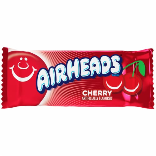 Airheads Red Cherry Flavor Mini Candy Bars Perspective: right