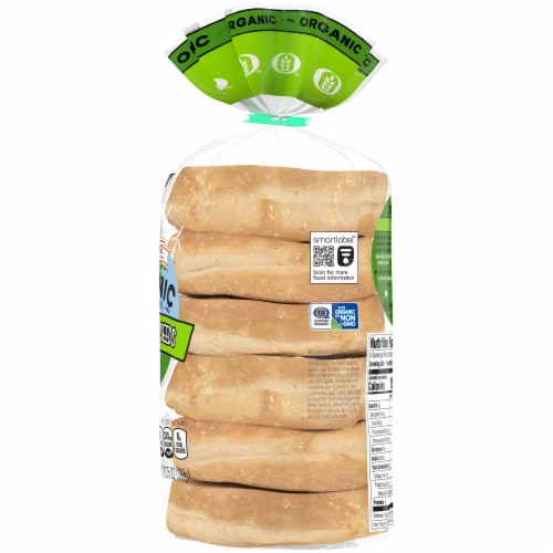Oroweat Organic 10 Grains & Seeds English Muffins 6 Count Perspective: right