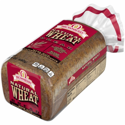 Brownberry Natural Wheat Bread Perspective: right