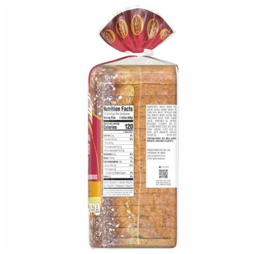 Brownberry Whole Grains Health Nut Bread Perspective: right