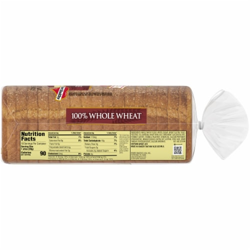 Brownberry Dutch Country 100% Whole Wheat Bread Perspective: right