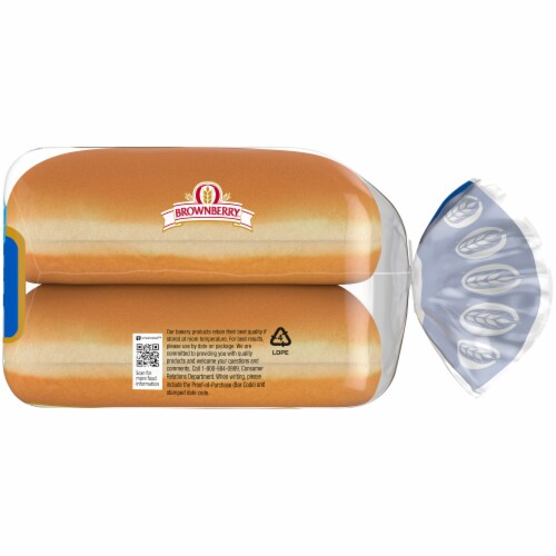 Brownberry® Country White Hot Dog Buns Perspective: right