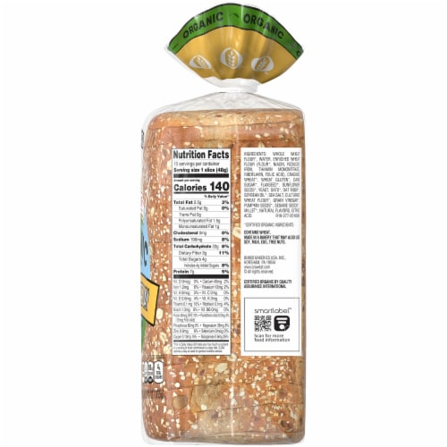 Oroweat Organic Seed The Day Bread Perspective: right